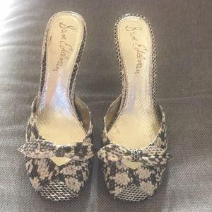 """SAM EDELMAN Peep-toe heels, 3"""""""